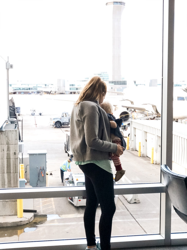 Traveling while baby wearing - which carrier to wear baby in while flying