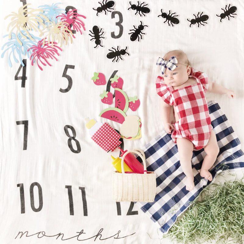 Milestone Baby Photo Ideas