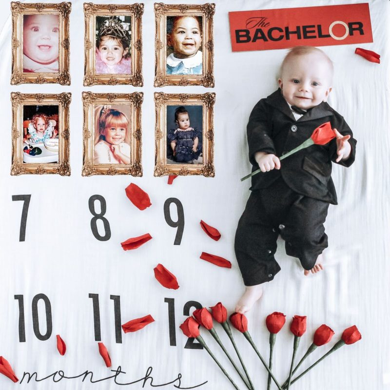 Milestone Baby Photo Ideas
