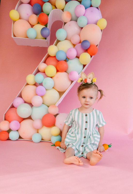 two year old birthday photoshoot!