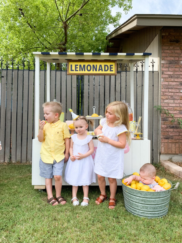 DIY Lemonade Stand | Darling lemonade stand photos
