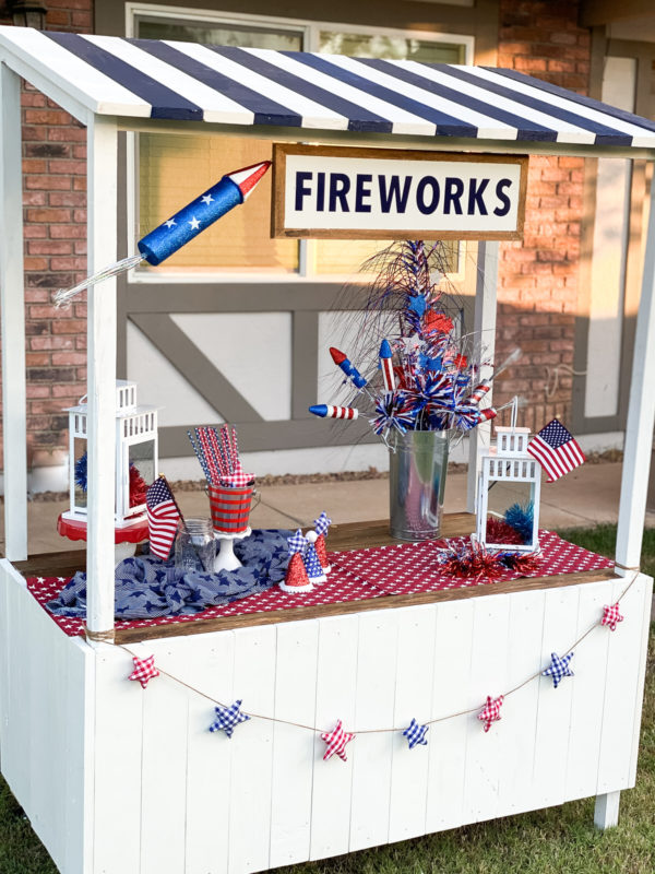 Fireworks Stand Photoshoot