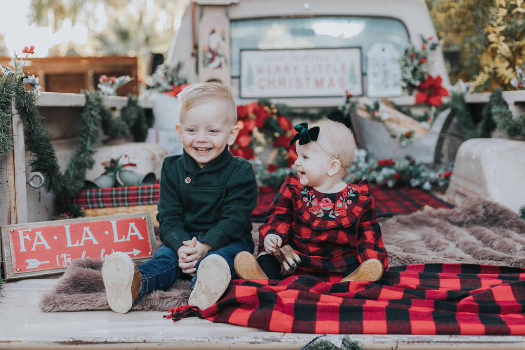 Christmas Photos | Brother + Sister