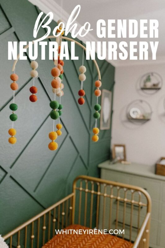 Gender neutral nursery, neutral nursery, boy nursery, explorer nursery, kids room, home decor, boho home decor, DIY