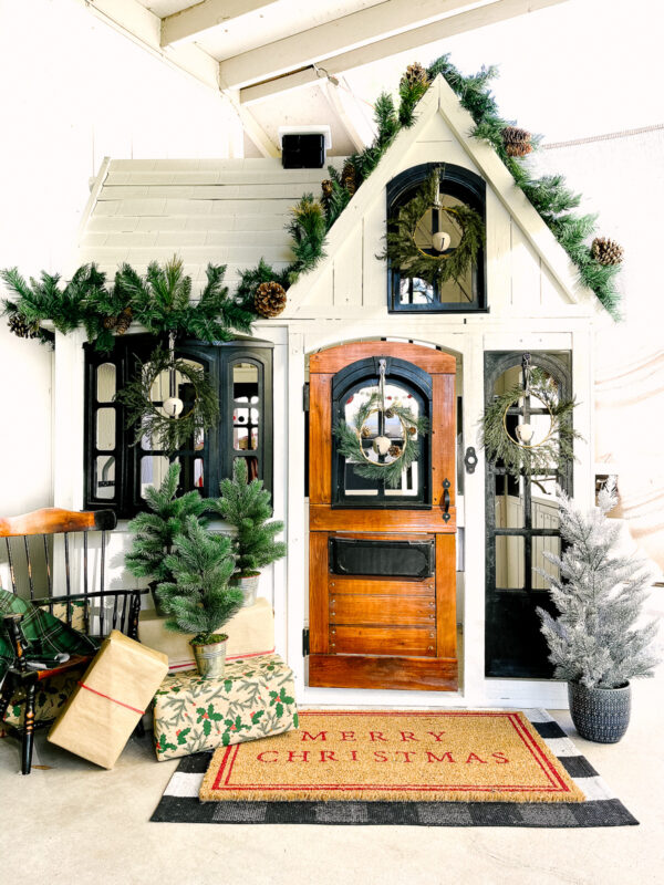 Playhouse Christmas Decor